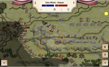 Civil War: Gettysburg 2.4.0 Apk + Data for android