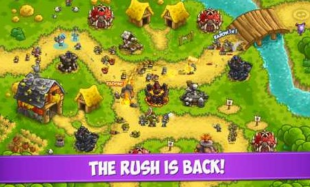 Kingdom Rush Vengeance 1.9.1 Apk + Mod (Gems/All Heroes/Towers) + Data