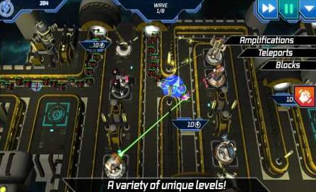Module TD. Sci-Fi Tower Defense 1.83 Apk + Mod (Unlimited Money)