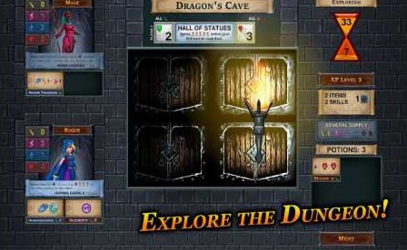 One Deck Dungeon 1.4 Apk + Mod (Unlocked Heroes) + Data